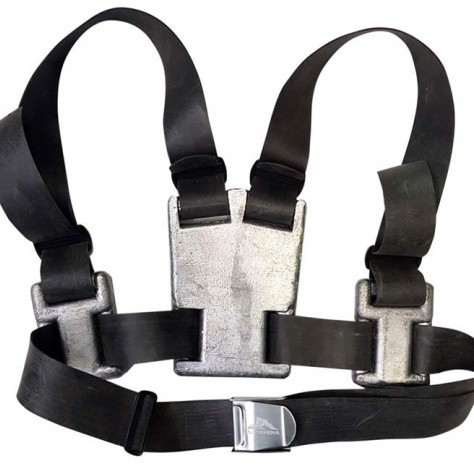 Weight harness Scorpena on rubber belts 9.5 kg