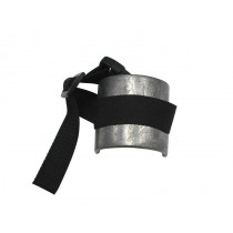 Leg weight bent 500 g, with strap