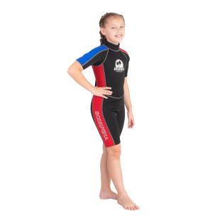 Wetsuit Scorpena Miami Kids Shorty, 3mm