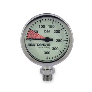 Pressure gauge Best Divers 52×25 mm