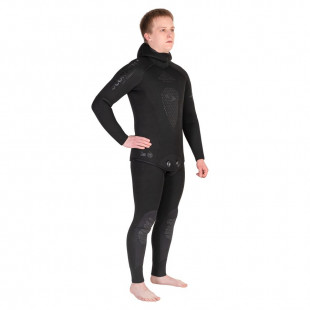 Wetsuit Scorpena All-black, 7 mm